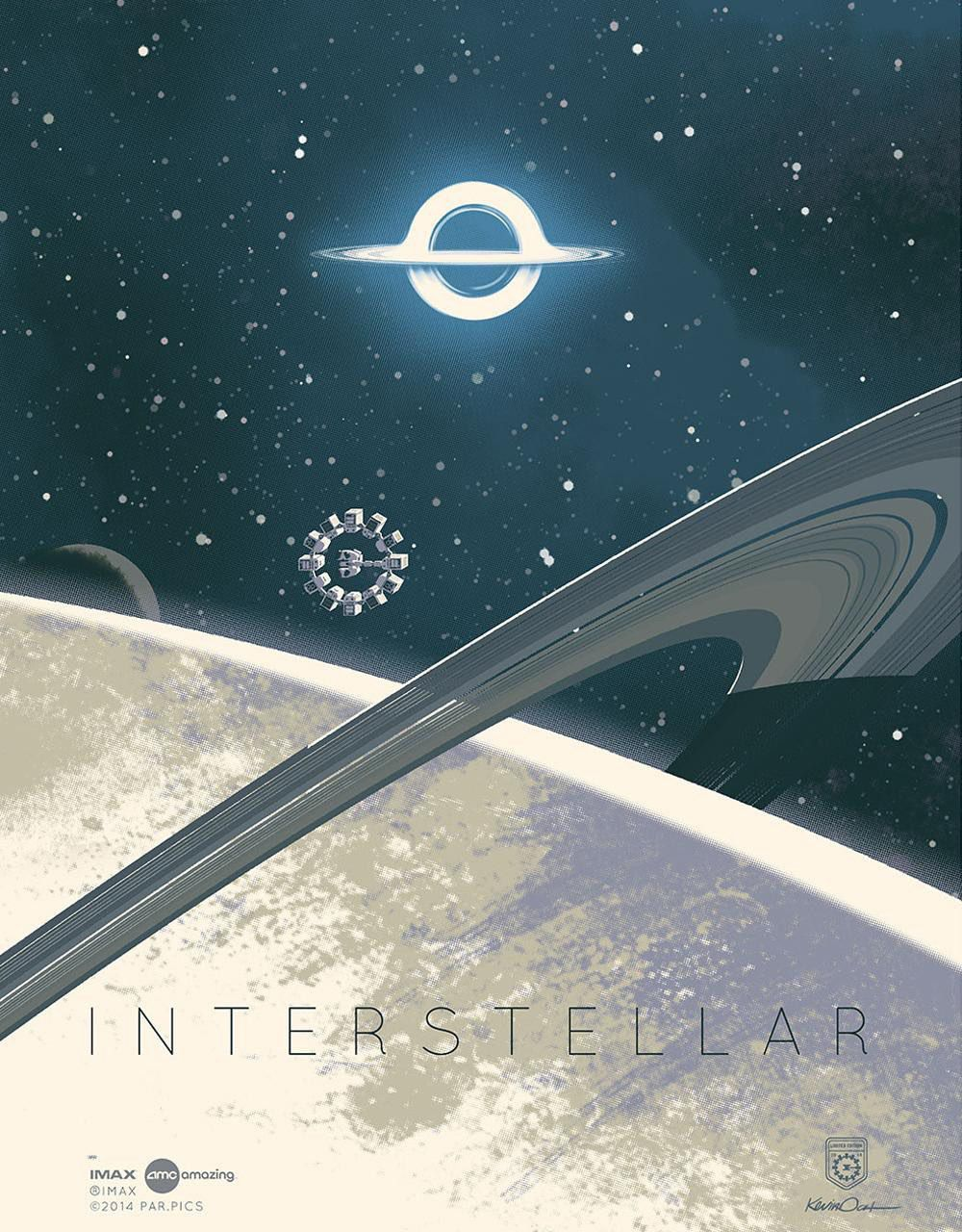 Interstellar - poster - space