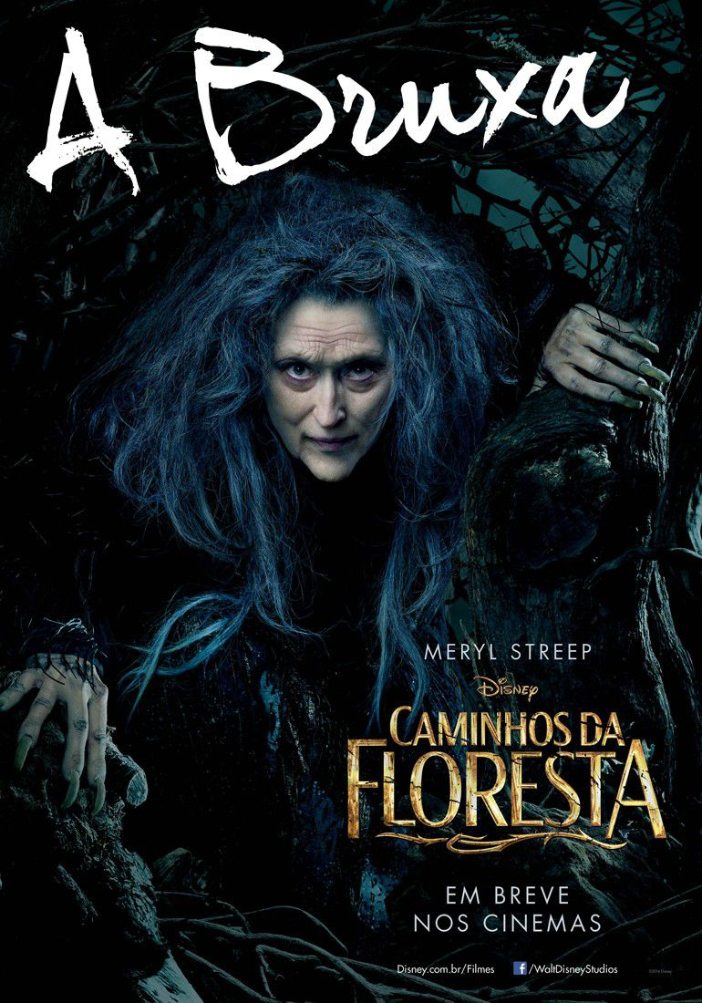 Into the Woods - poster - Bruxa - Strega - Witch - Meryl Streep