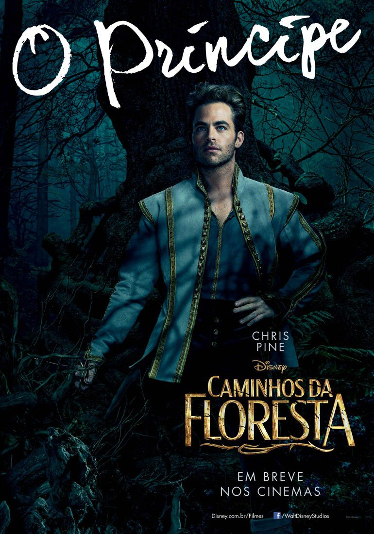 Into the Woods - poster - Principe - Prince - Chris Pine