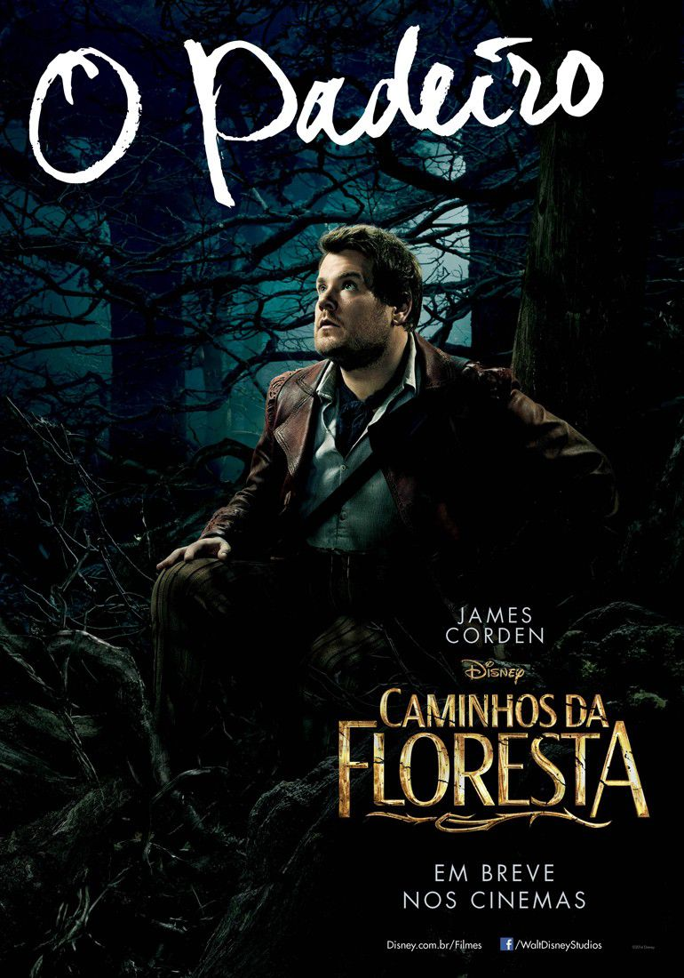 Into the Woods - poster - Caminhos da Floresta - Padeiro - James Corden