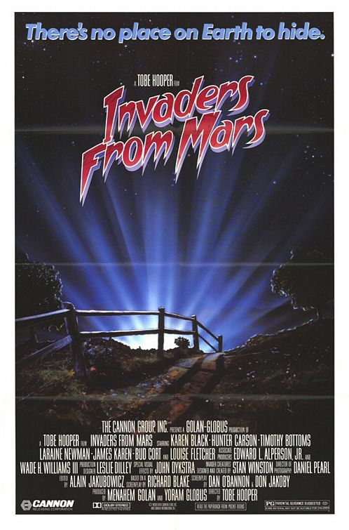 Invaders from Mars - remake 1986