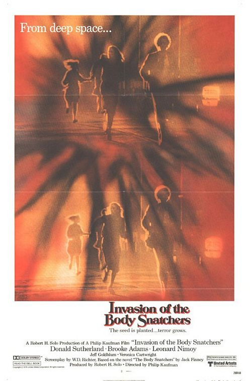 Invasion of the Body snatchers - Invasione Ultracorpi - remake 1978 - film cult poster scifi science fiction fantascienza