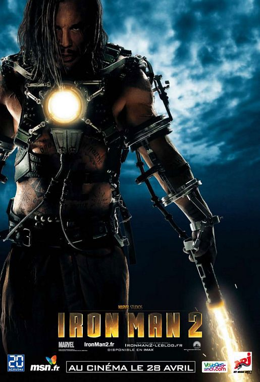 Iron Man 2 -  Ivan Vanko - Whiplash (Mickey Rourke)
