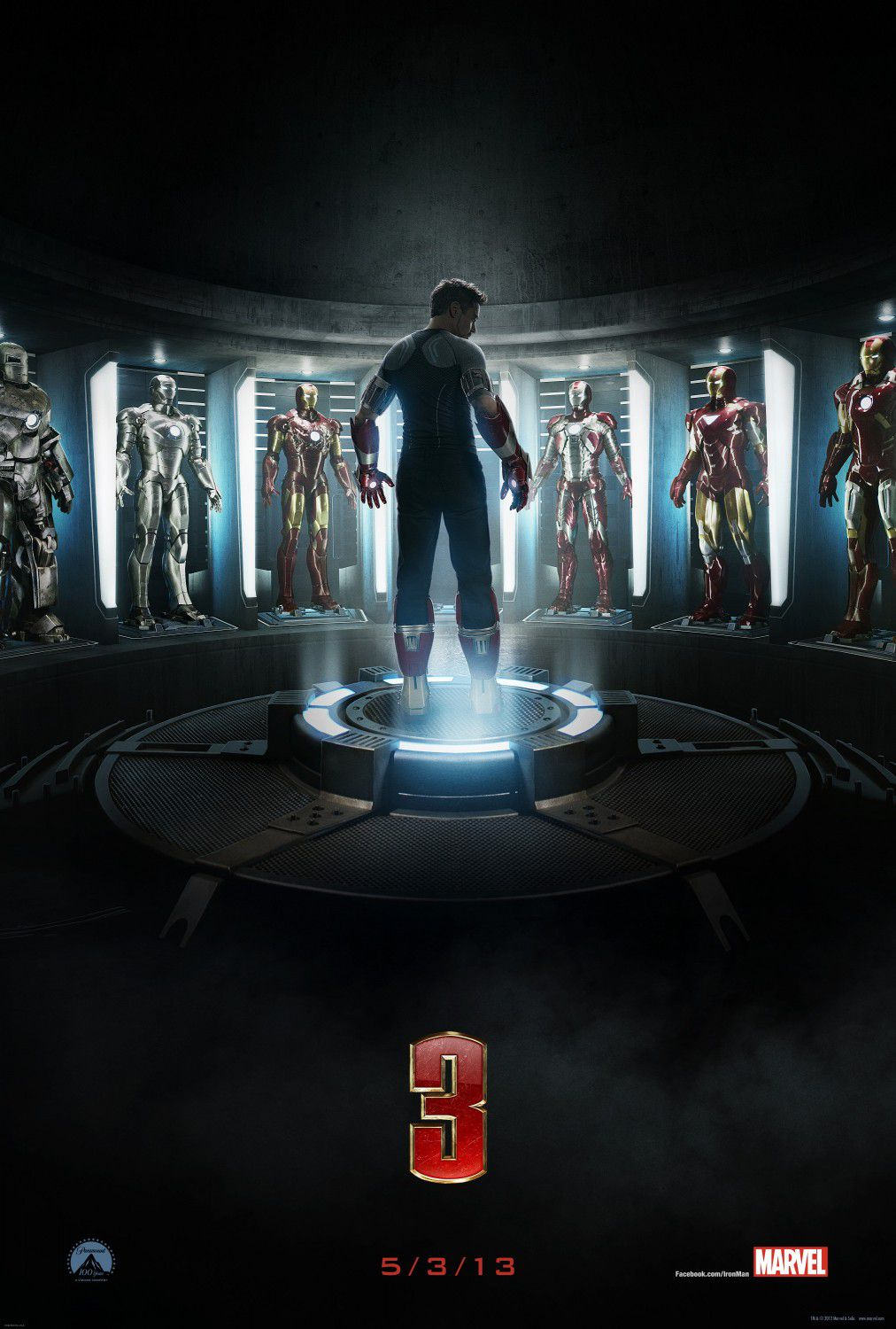 Ironman 3 - armour - armature room - armature