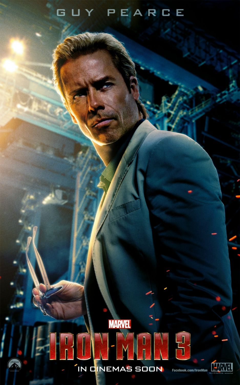Ironman 3 -  Aldrich Killian (Guy Pearce)