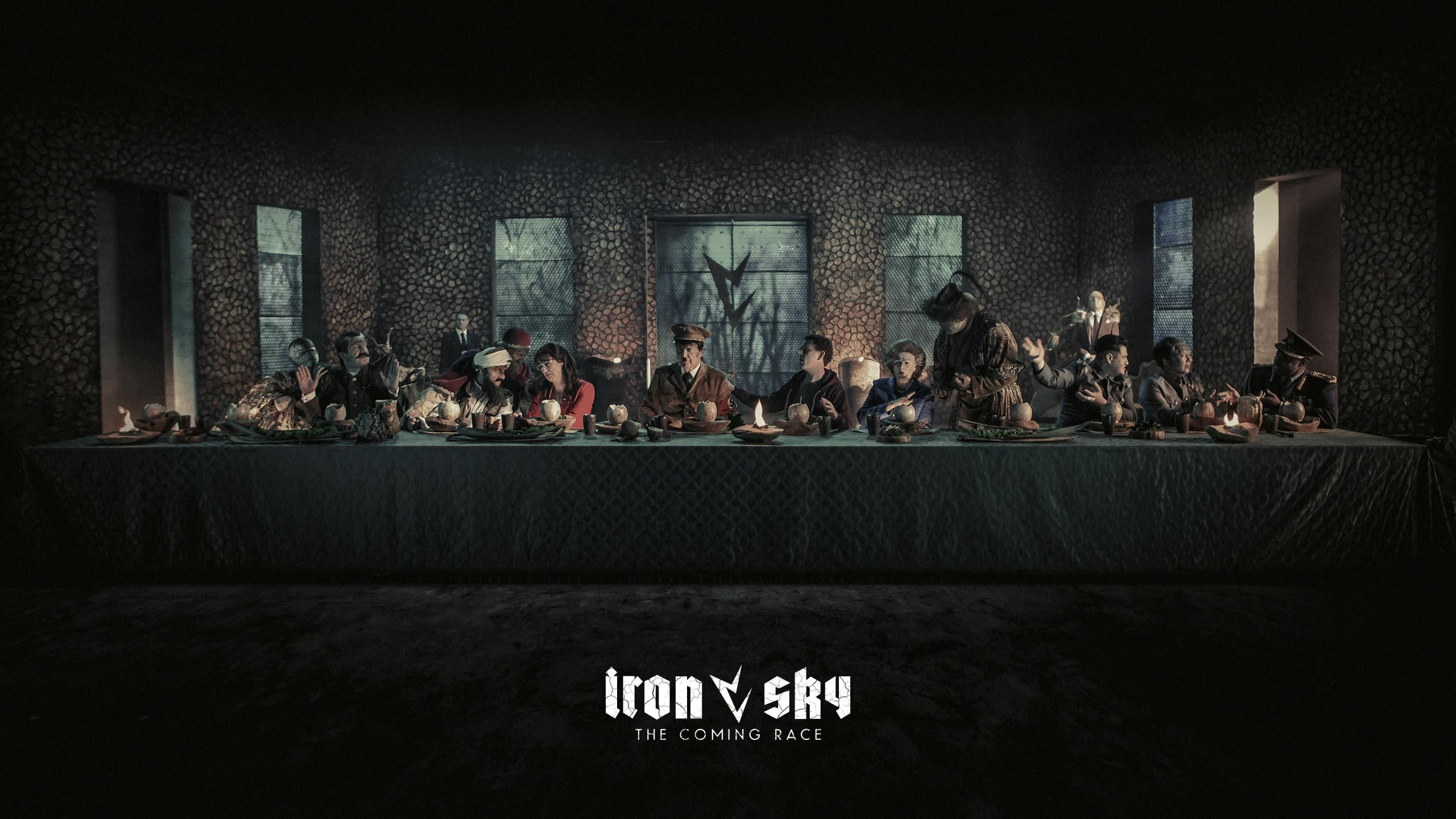 Iron Sky 2 - the coming race - bow down before your reptilian overlords