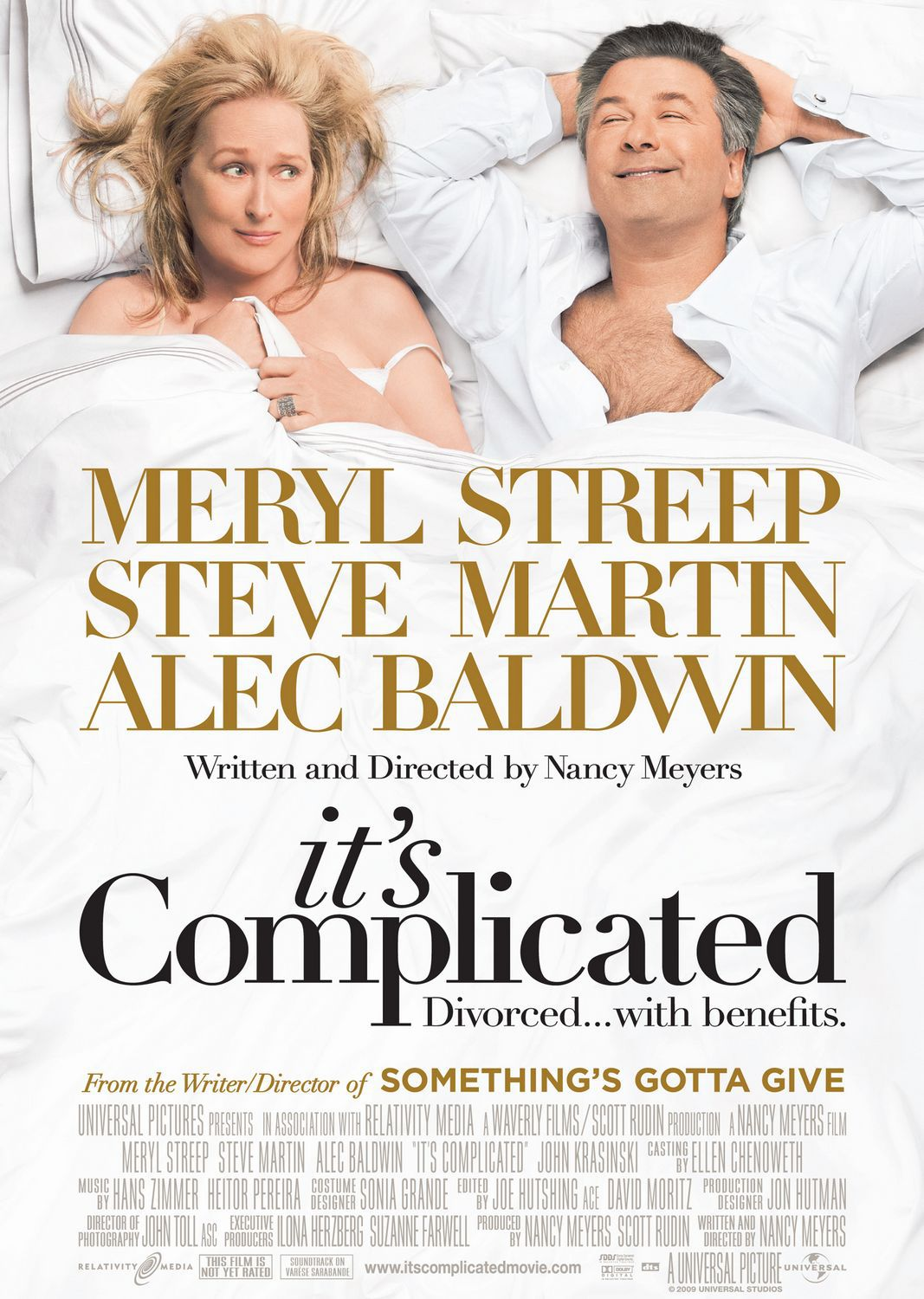 Its Complicated - E' Complicato - Meryl Streep - Steve Martin - Alec Baldwin (Divorced with benefits)