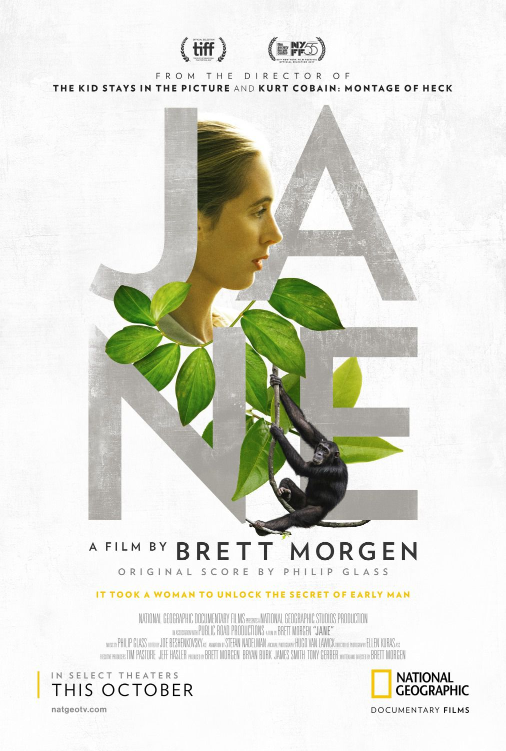 Jane - it took a woman to unlock the secret of early man - film by Brett Morgen