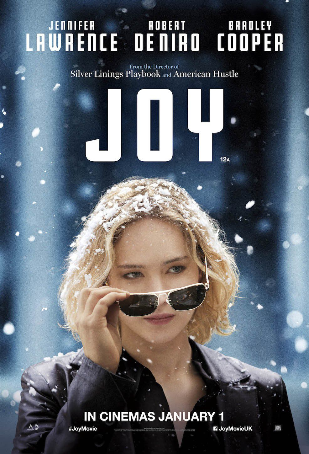 Film - Joy - Jennifer Lawrence - Robert DeNiro - Bradley Cooper  - poster