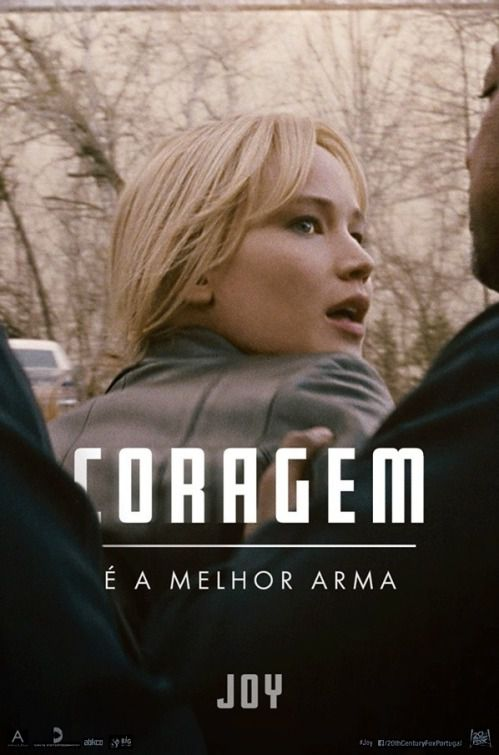 Film - Joy - Jennifer Lawrence - Robert DeNiro - Bradley Cooper  - Coragem
