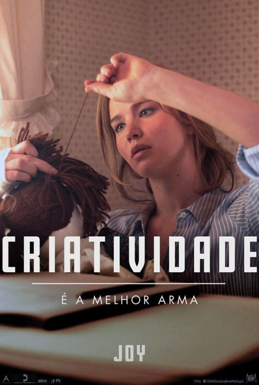 Film - Joy - Jennifer Lawrence - Robert DeNiro - Bradley Cooper  - Criatividade