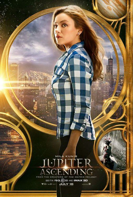 Jupiter Ascending  - Mila Junis - movie poster
