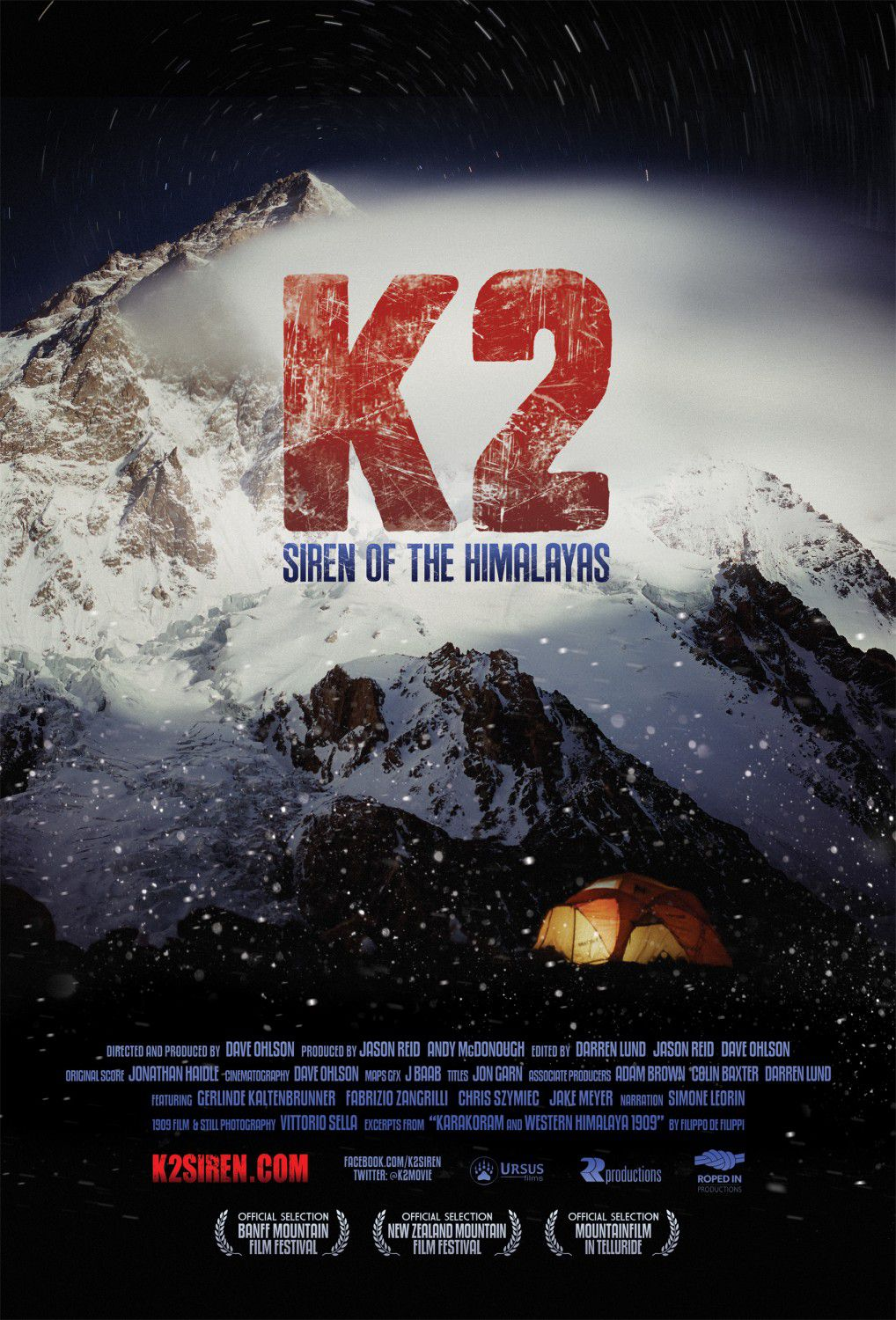 K2 - K-2 - K two Siren of the Himalayas