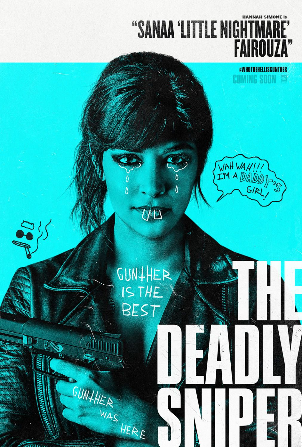 Hannah Simone - Sanaa little nightmare fairouza - Deadly Sniper