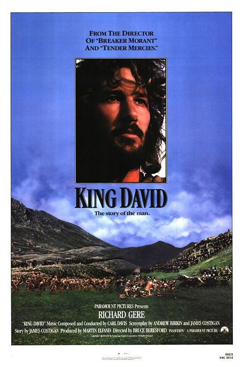 King David - the story of the man - with Richard Gere