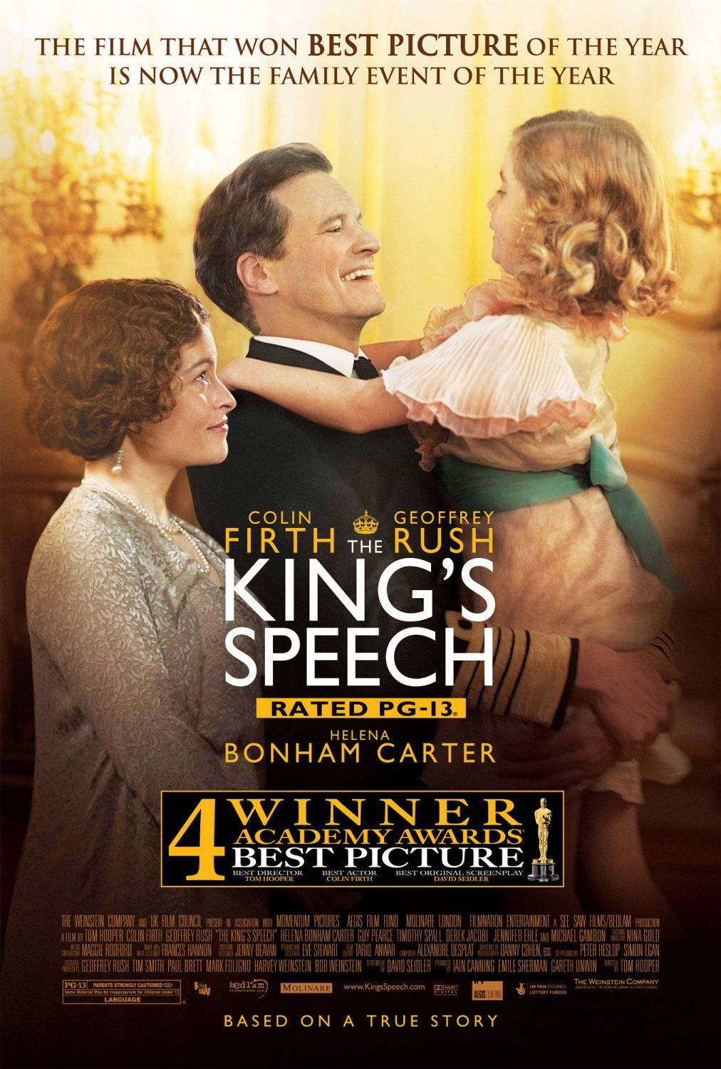 Film poster - Il Discorso del Re - Kings Speech - Colin Firth