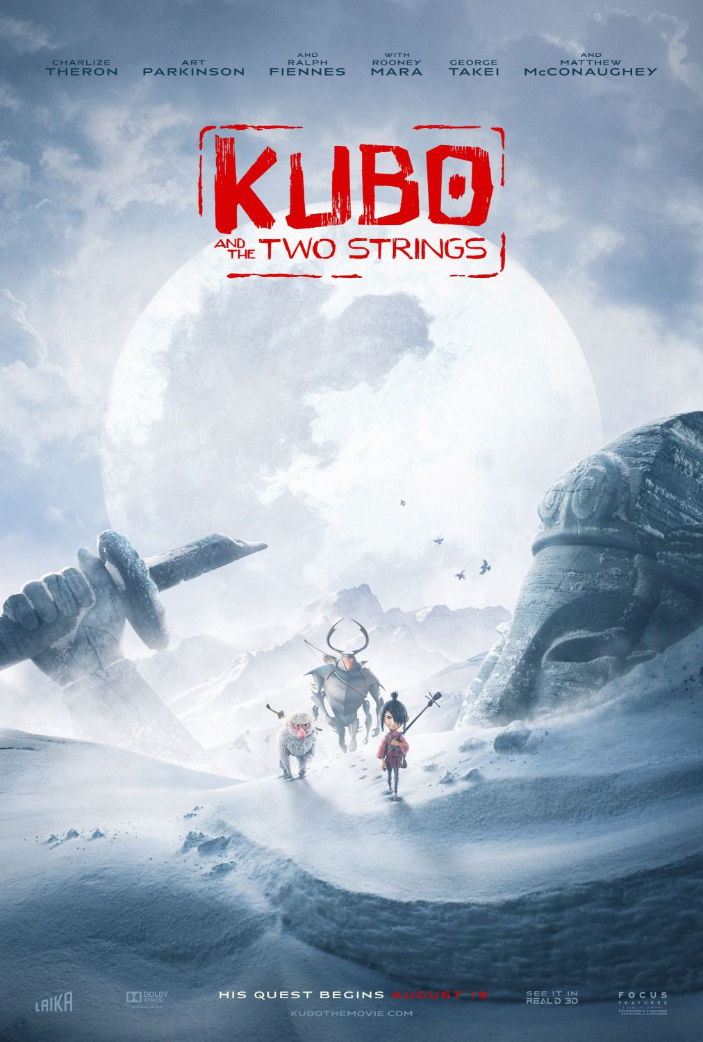 Kubo and the two Strings - poster ice