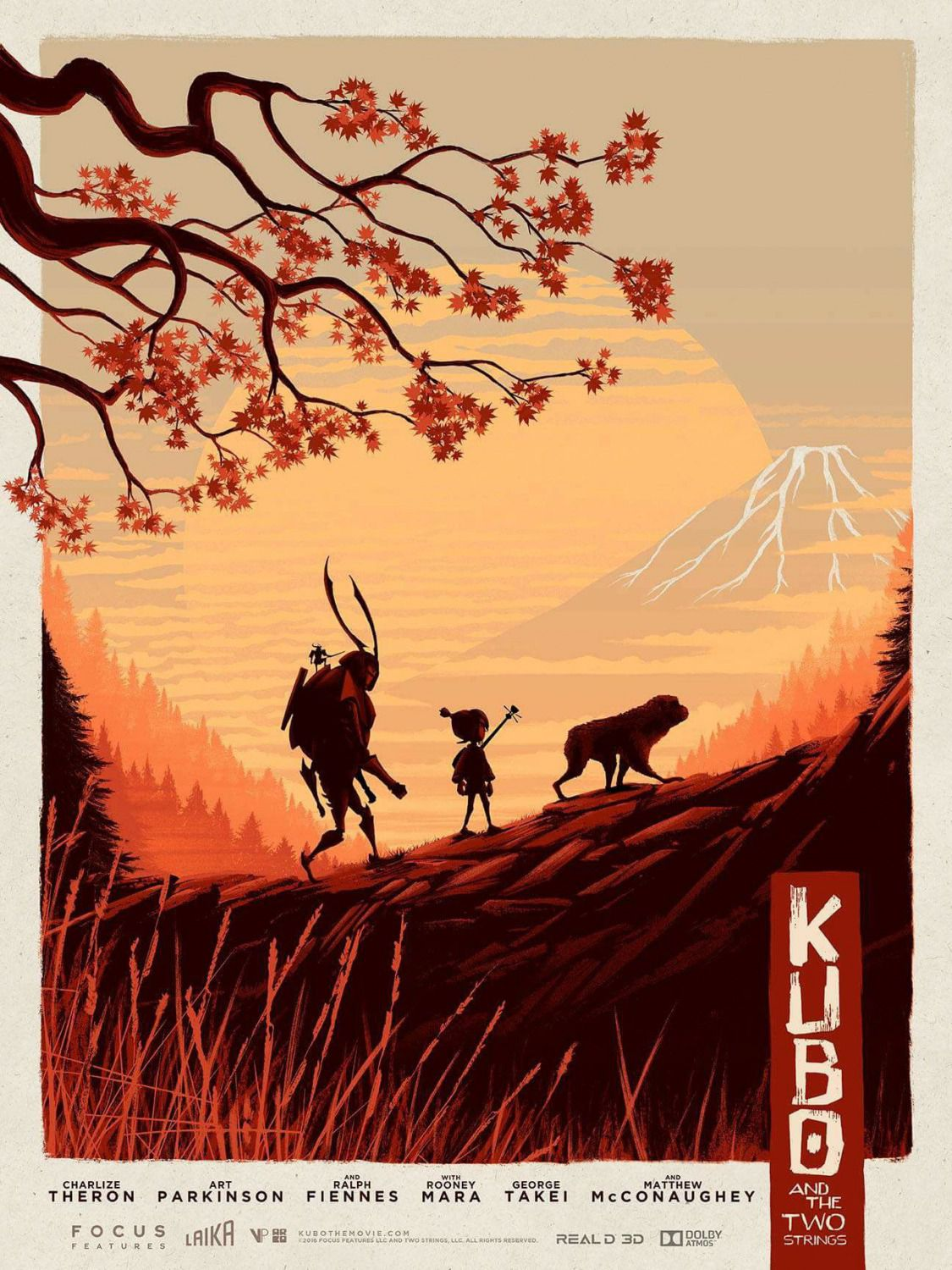 Kubo and the two Strings - poster japanese