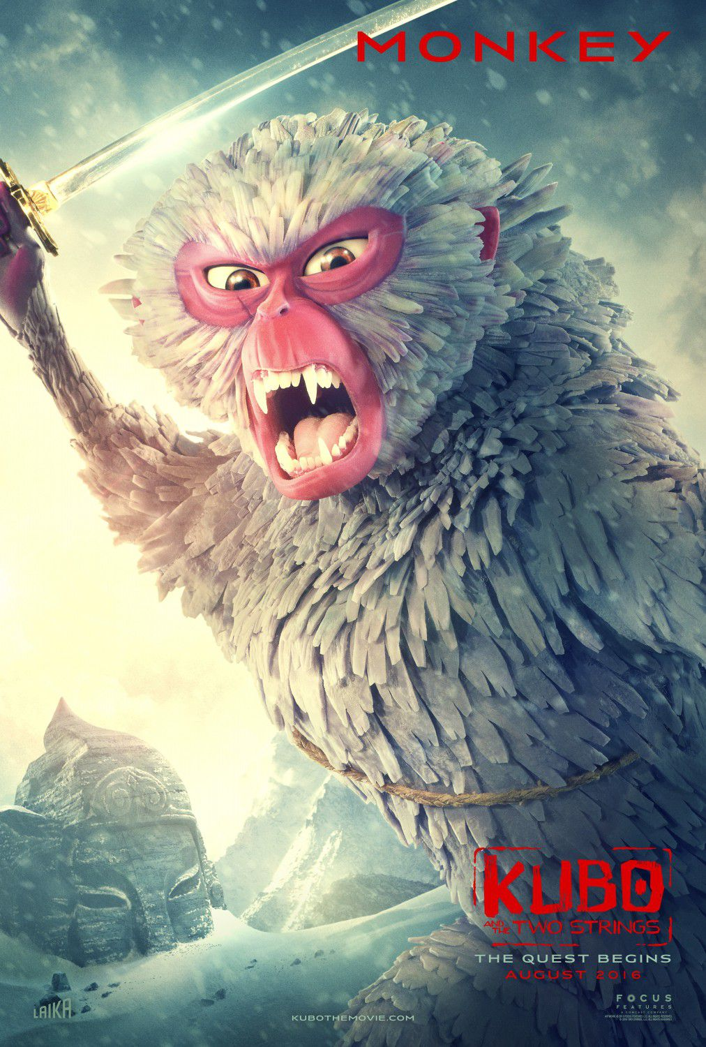 Kubo and the two Strings - Monkey