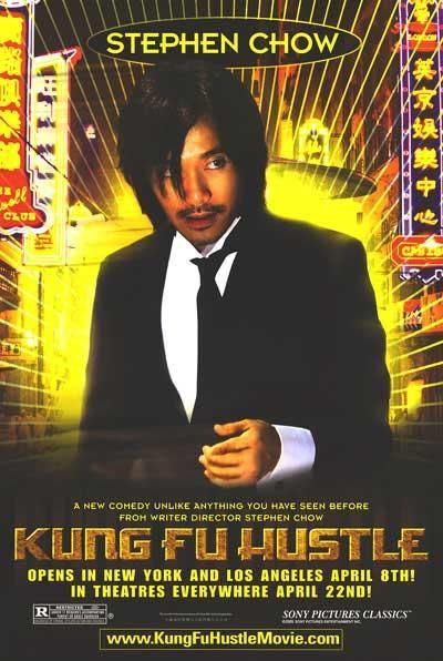 Film poster - Kung Fusion - Kung Fu hustle - Stephen Chow