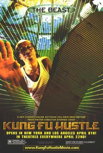 Film poster - Kung Fusion - Kung Fu hustle - The Beast