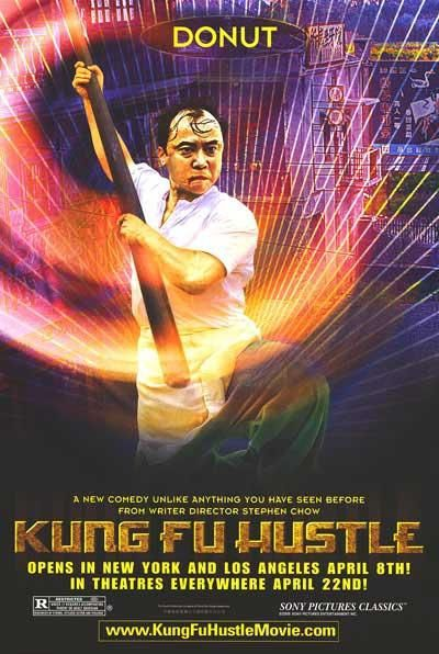 Film poster - Kung Fusion - Kung Fu hustle - Donut