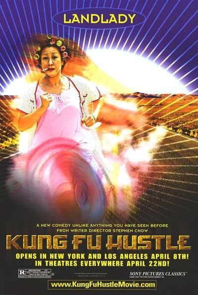 Film poster - Kung Fusion - Kung Fu hustle - Landlady (the voice of Dragon)