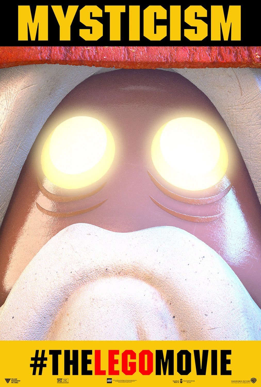LEGO movie - Vitruvius - mysticism