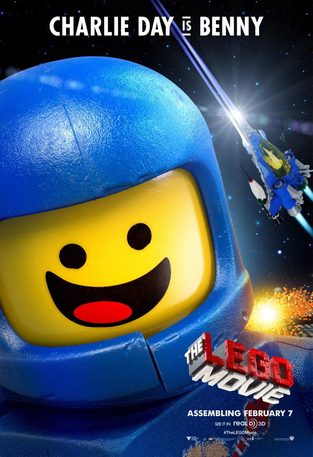 LEGO movie - Benny