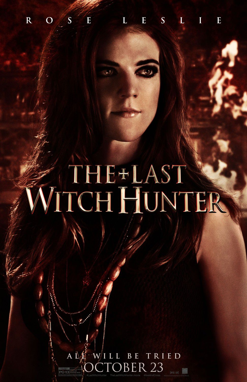 Last Witch Hunter - Ultimo Cacciatore di Streghe - Rose Leslie