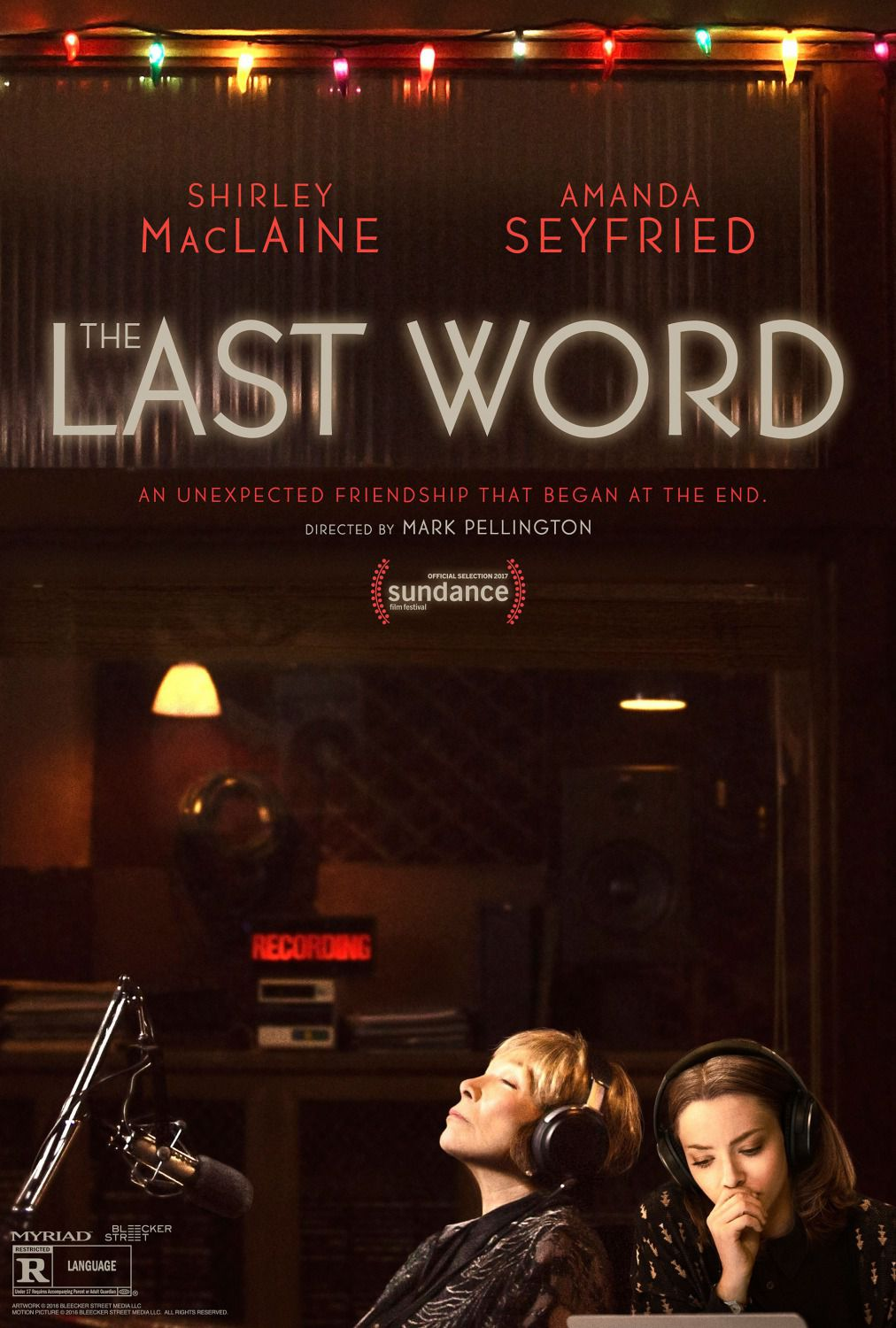 Film - Adorabile Nemica - Last Word  - Amanda Seyfried - Shirley MacLaine - Thomas Sadosky