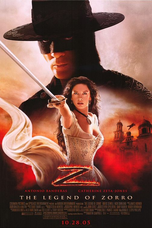The Legend of Zorro - Antonio Banderas - Catherine Zeta Jones