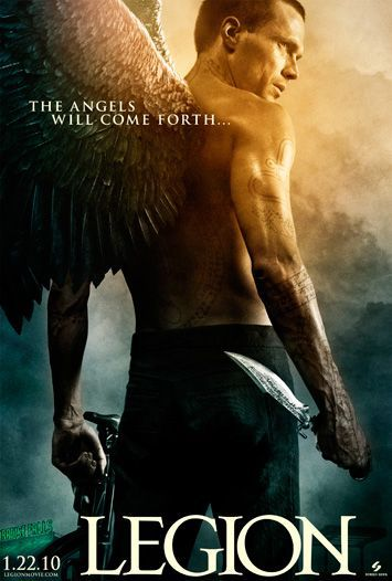 Legion ... when the last Angel falls, the fight for mankind begins - film poster