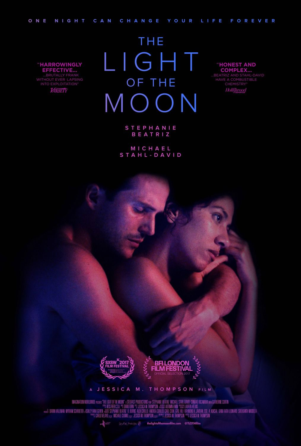 Light of the Moon - La Luce della Luna - Stephanie Beatriz - Michael Stahl-David - Conrad Ricamora - Catherine Curtin - film poster
