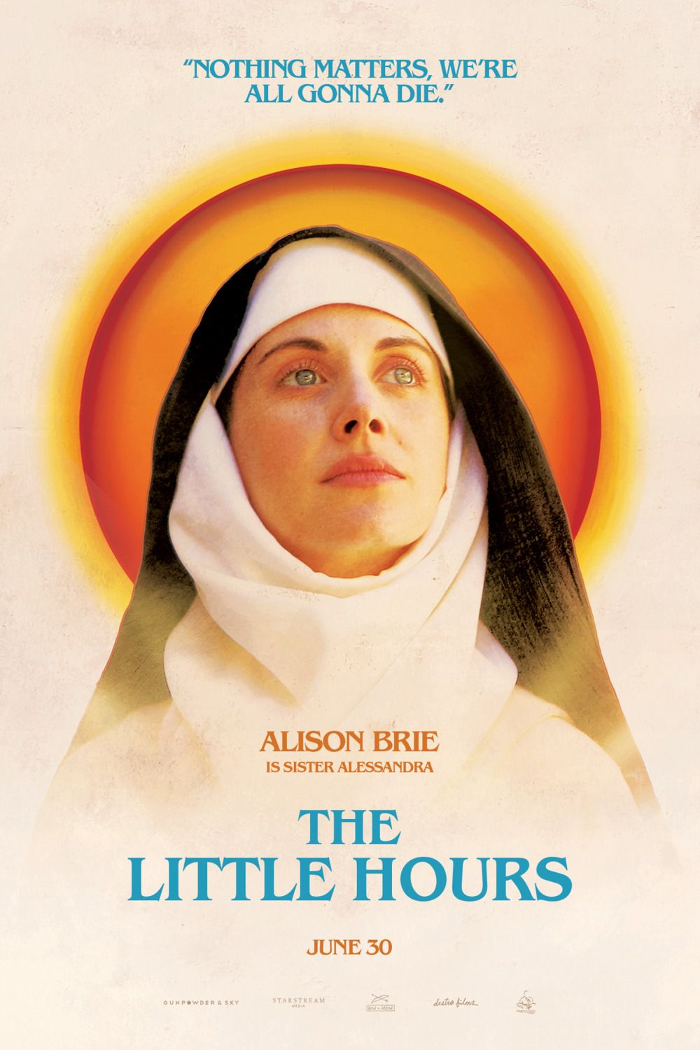 Little Hours - poster - Alison Brie - Sister Alessandra