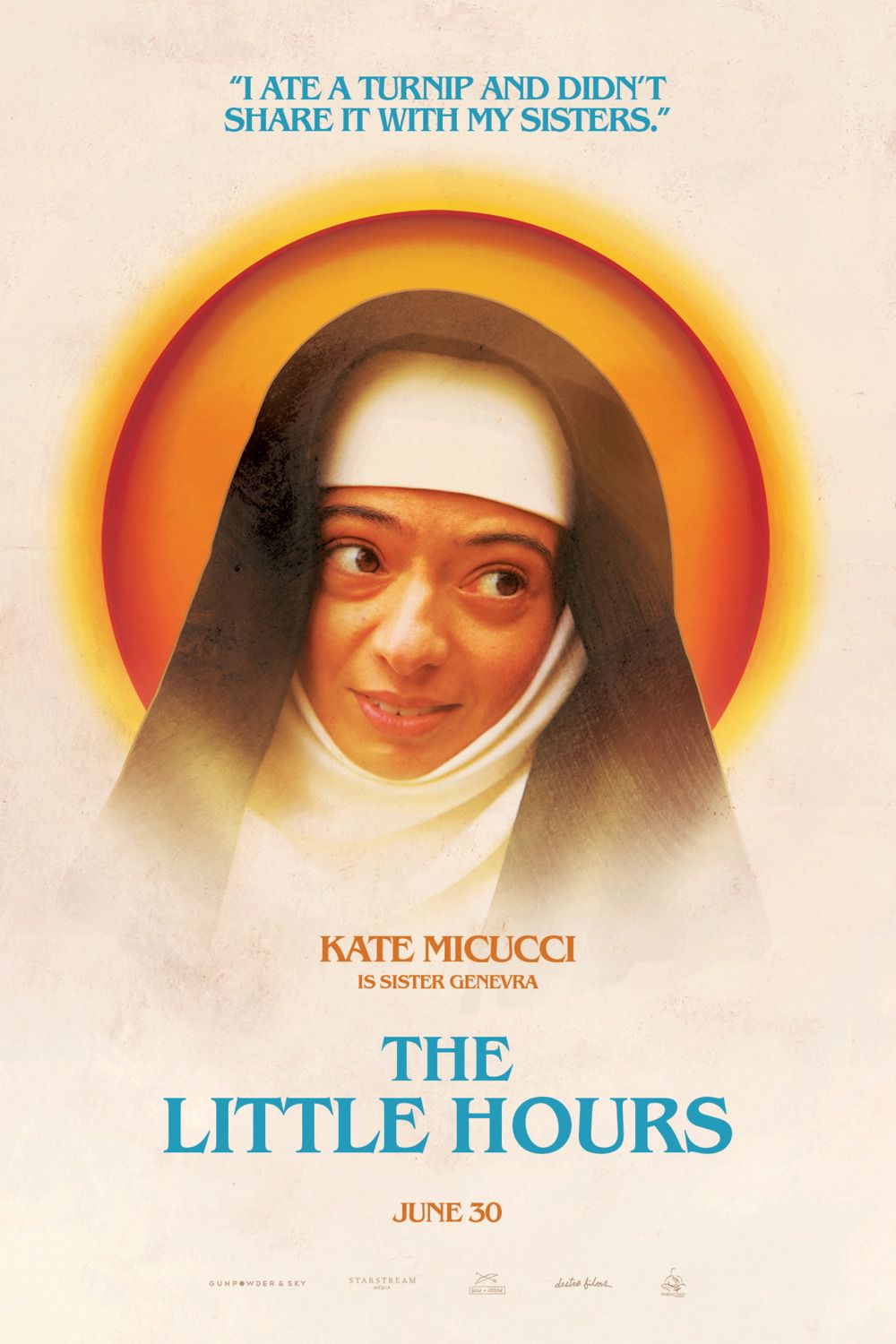 Little Hours - poster - Kate Micucci - Sister Genevra