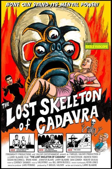 Lost Skeleton of Cadavra - None can Stand its Mental Power!