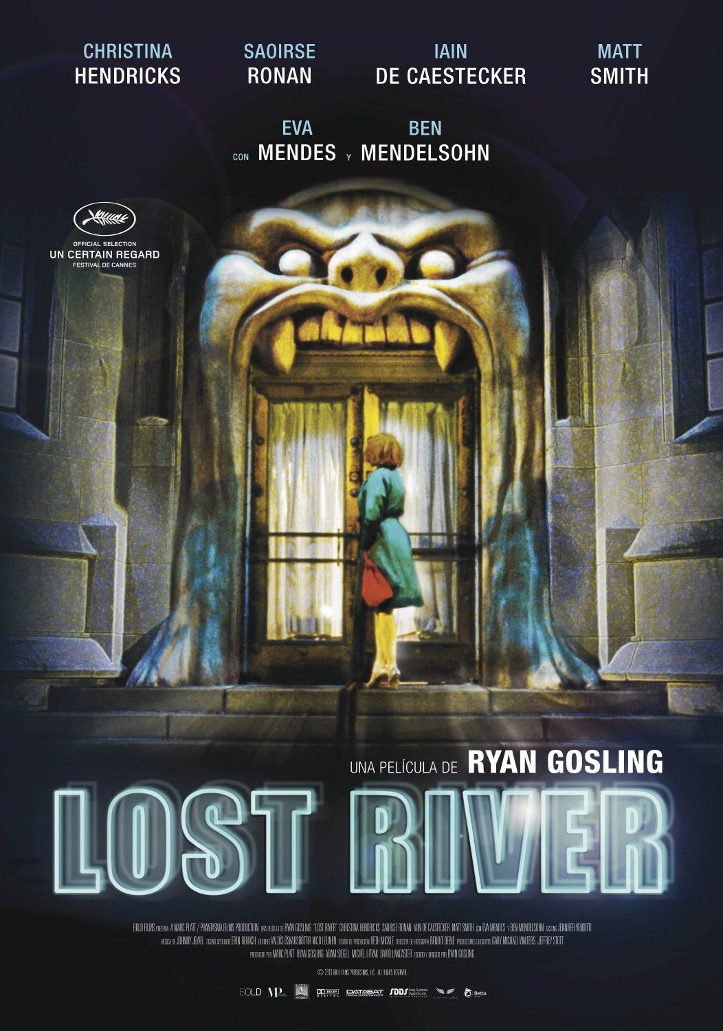 Lost river - film poster - door
