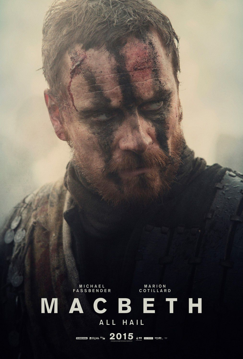 Macbeth (2015) - Michael Fassbender - film poster