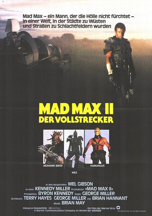 Mad Max 2 the Road Warrior - Il guerriero della strada - poster