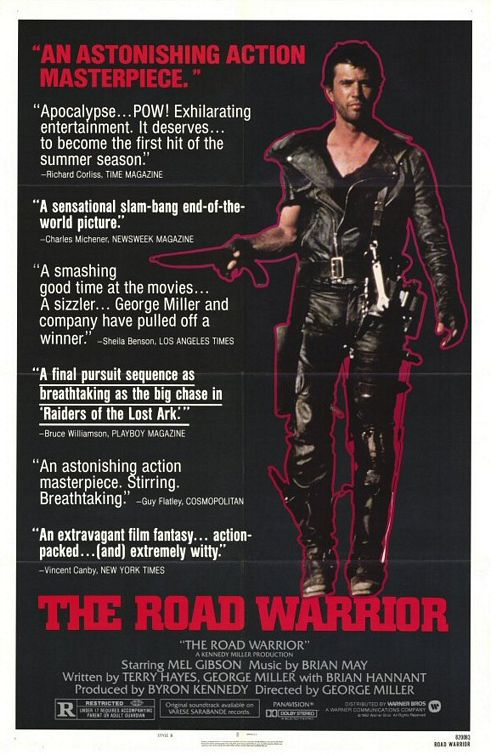 Mad Max 2 the Road Warrior - Il guerriero della strada - Mel Gibson