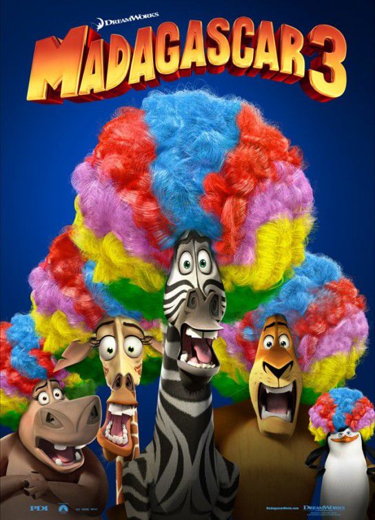 Madagascar 3 (Europe's most Wanted)