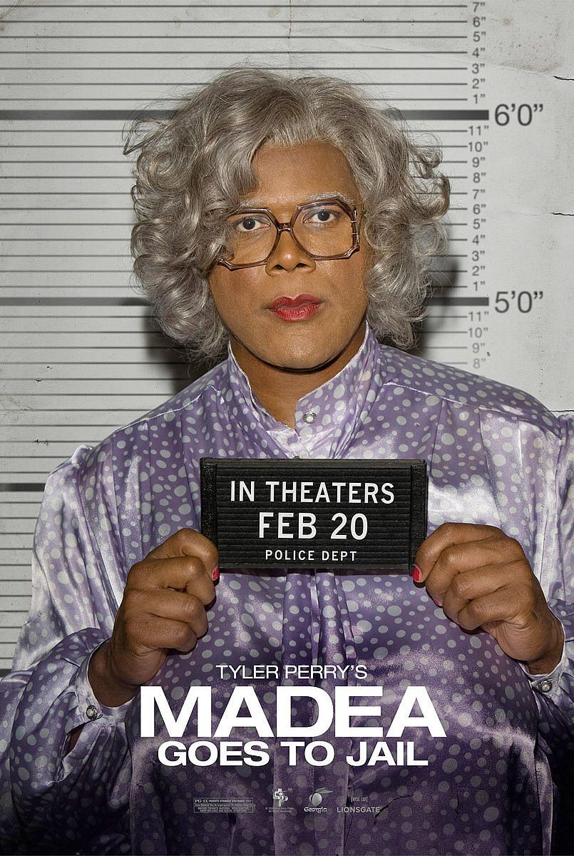 Madea goes to jail - Madea va in Prigione - Tyler Perry - film poster