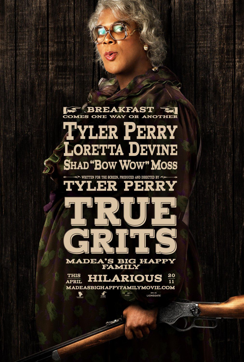 Madeas big Happy Family - Madea Famiglia Felice - Tyler Perry - film fun poster - True Grits Madea