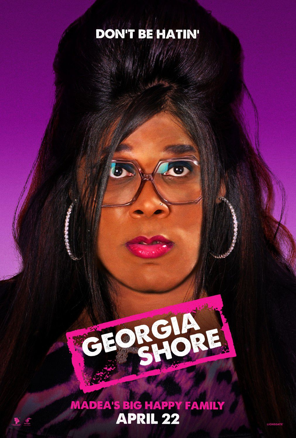 Madeas big Happy Family - Madea Famiglia Felice - Tyler Perry - film fun poster - Georgia Shore - Madea