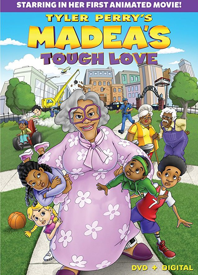 Madeas tough Love - animated Madea film