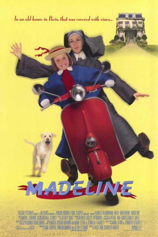 Madeline ... in an old house in Paris, that was covered with vines ... - film poster