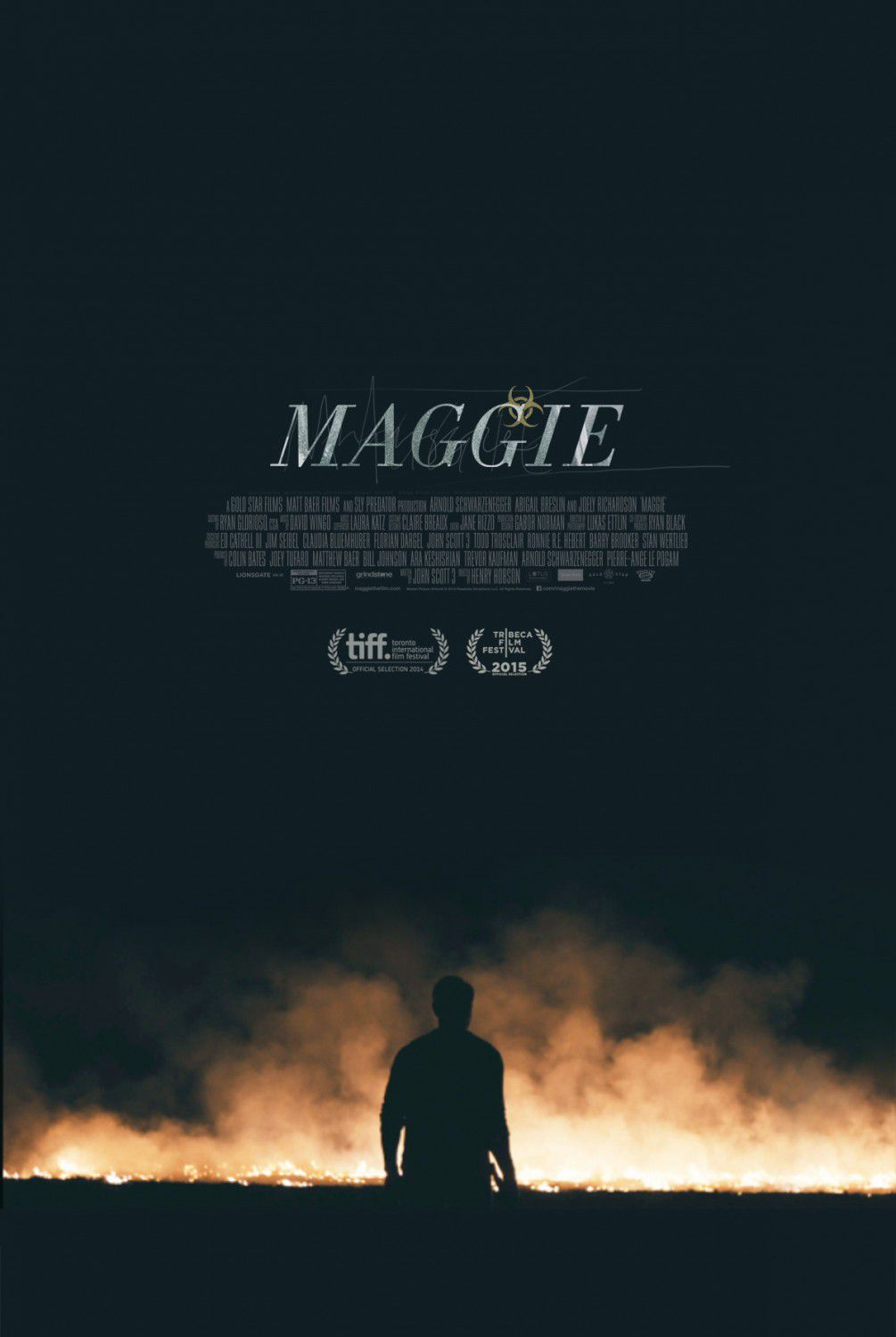 Contagious - Maggie - film poster