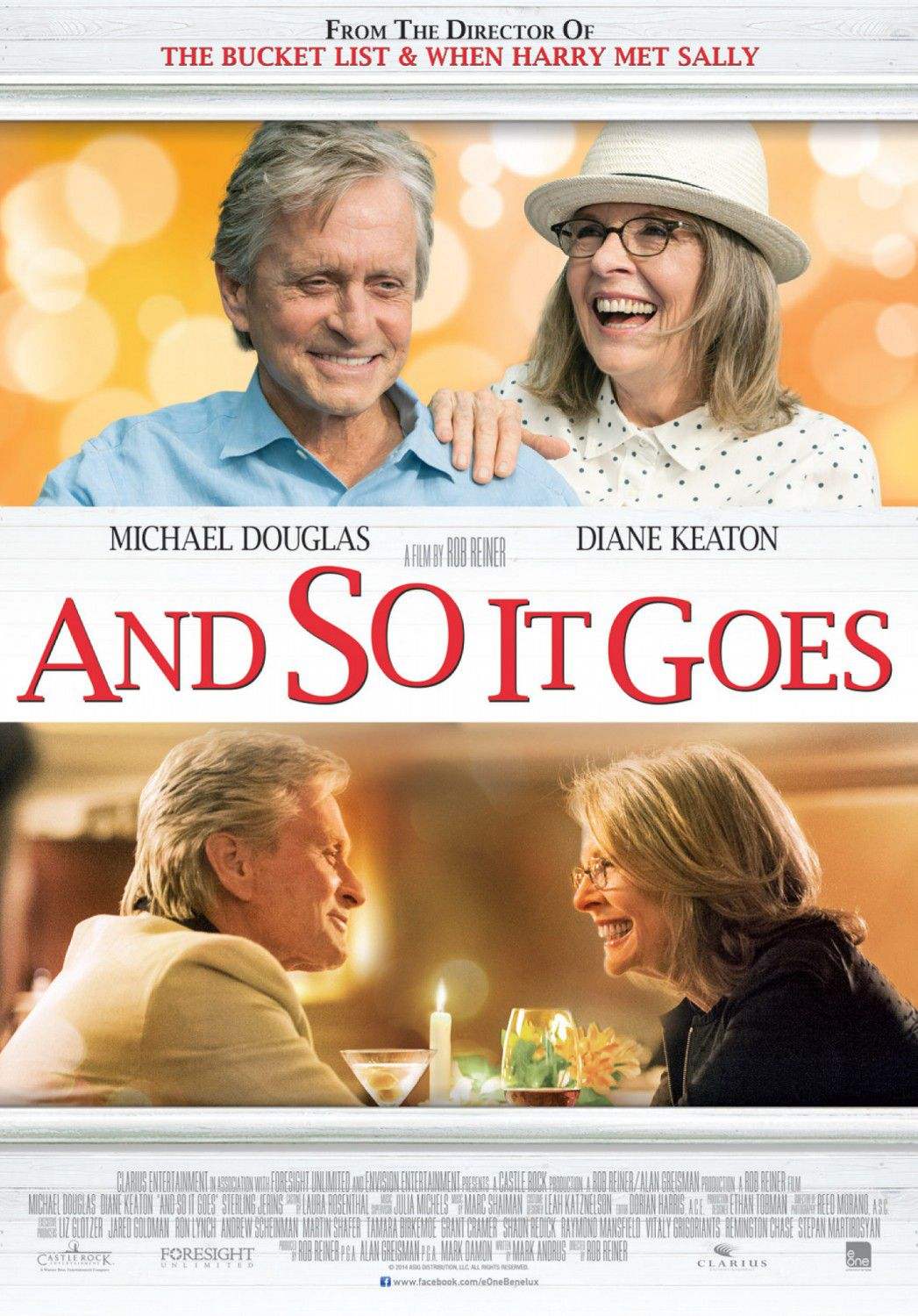 Mai così Vicini - Juntos pero no Tanto - And so it goes - Romance - Diane Keaton - Michael Douglas - film poster