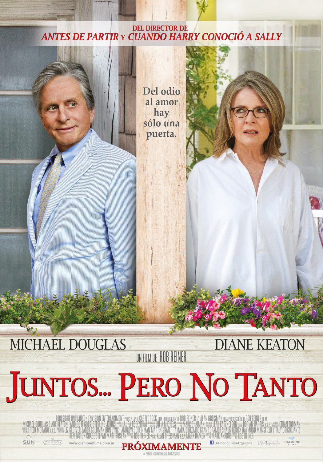 Juntos pero no Tanto - And so it goes - Romance - Diane Keaton - Michael Douglas - film poster